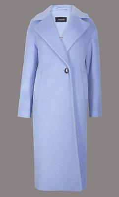 M&S lilac coat