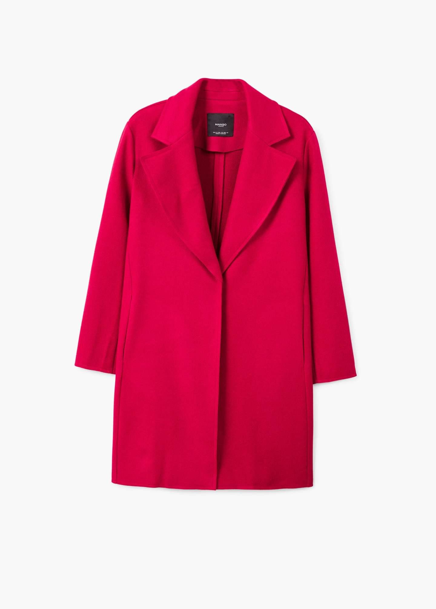 Mango darker pink coat