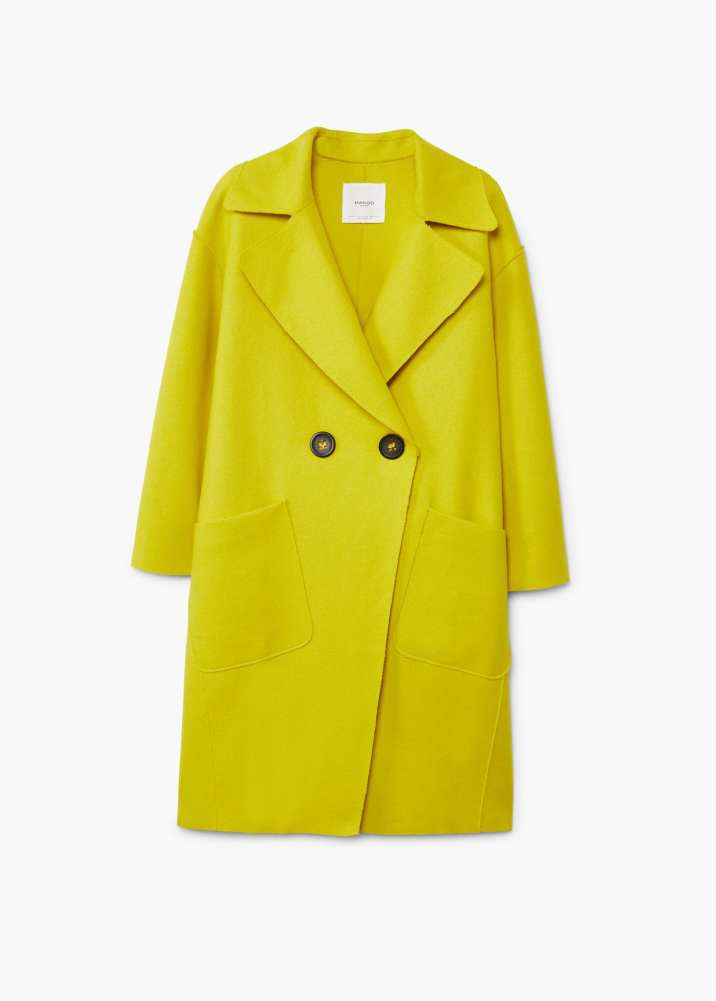 Mango lime yellow coat