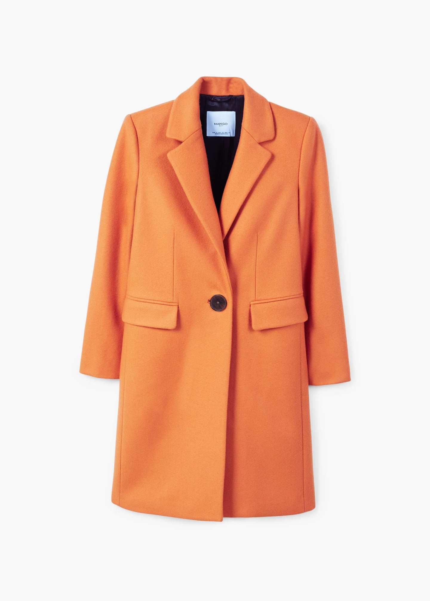 Mango orange coat