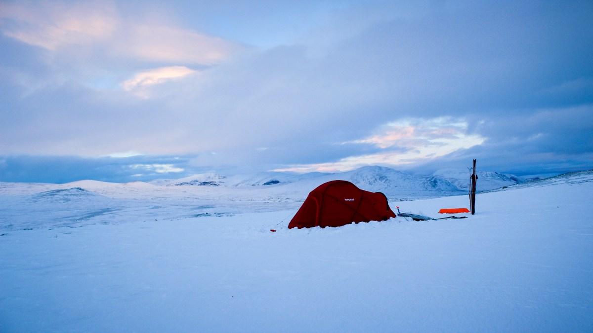 Test av Bergans Helium Dome vintertelt