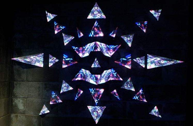 2015 The Roaring Borealis Projection Art 3D Installation