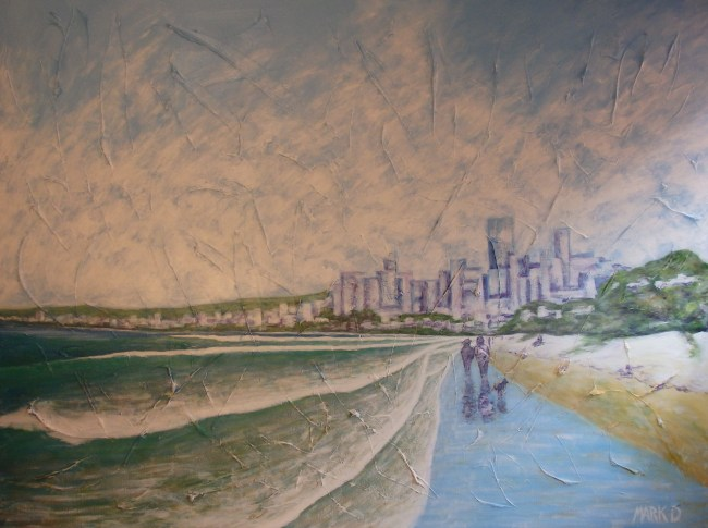Mark Davey beach city scape
