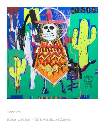 Bandido - Kristian Williams, courtesy of the Redsea Gallery, Brisbane