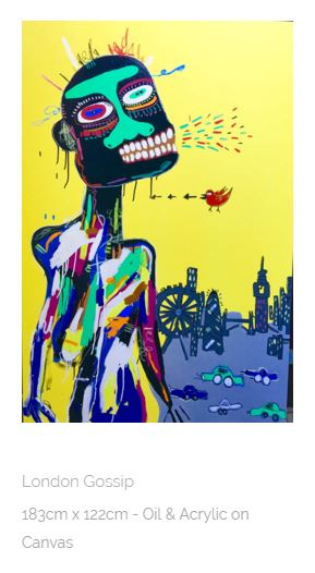 London Gossip - Kristian Williams, courtesy of Redsea Gallery