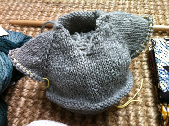 baby sweater barry klein top down class