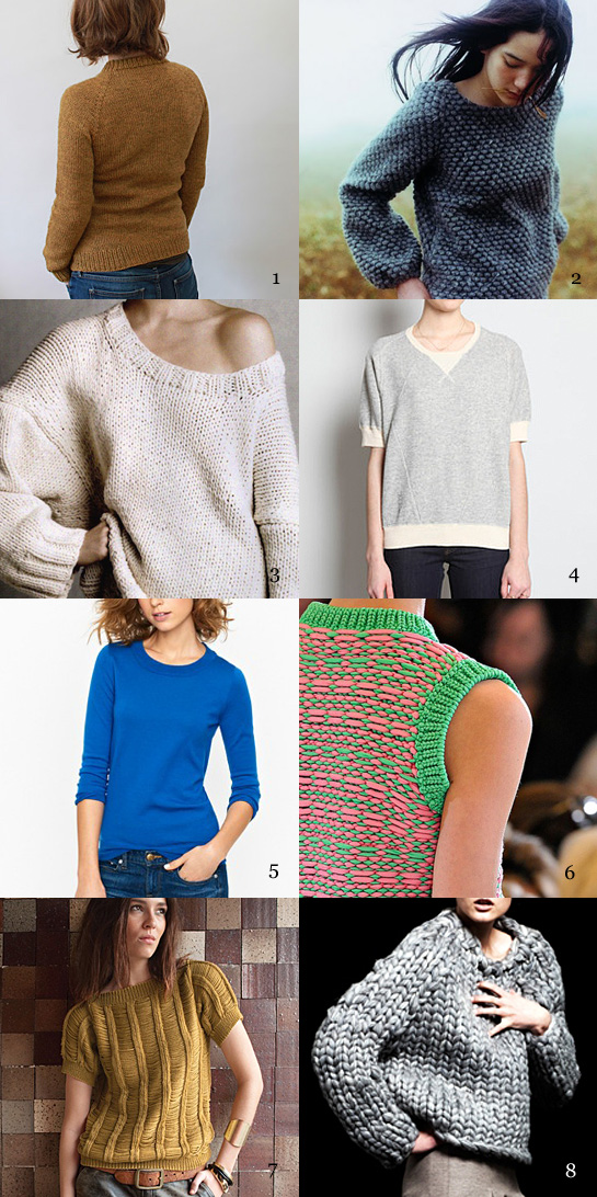 pullover shapes