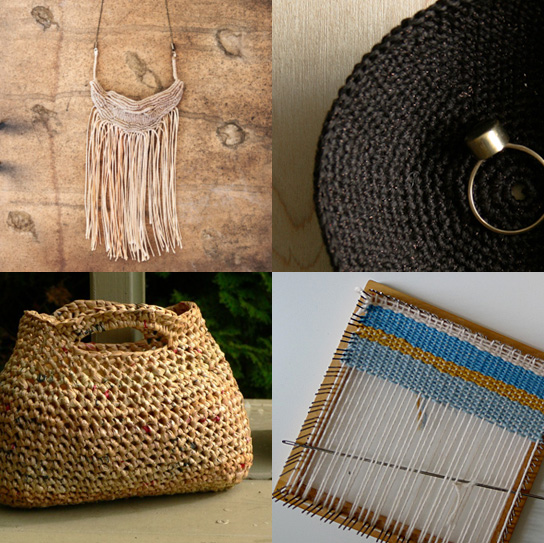 Crochet, macrame and weaving project ideas for the long weekend