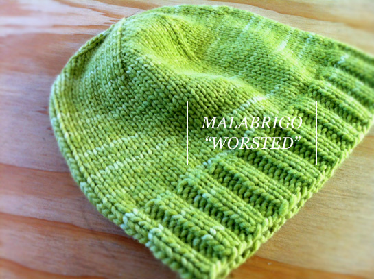 afghans for afghans hat malabrigo worsted