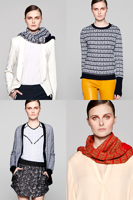 a.l.c. resort 2013 knitwear