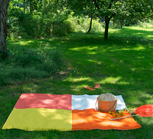 purl bee picnic blanket