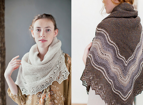 quill shawl knitting pattern by jared flood