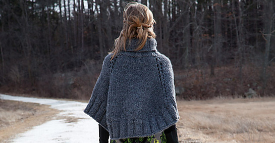 back bay poncho by leslie scanlon