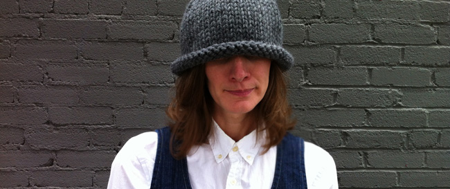 giant stockinette hat