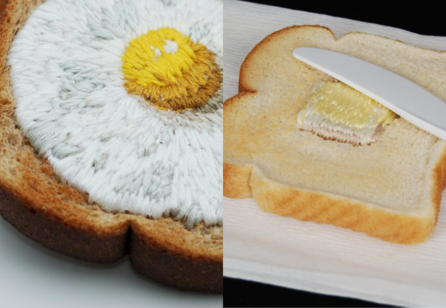 embroidered toast judith klausner
