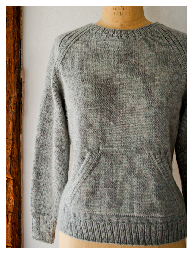 purl bee sweatshirt sweater knitting pattern