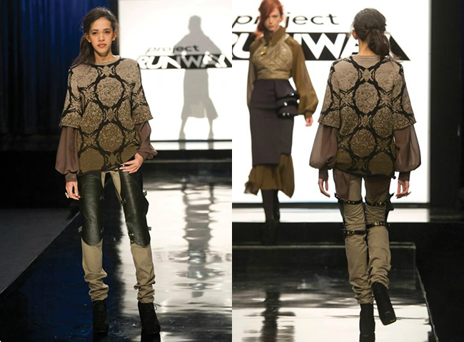 wolf sweater by michelle lesniak project runway