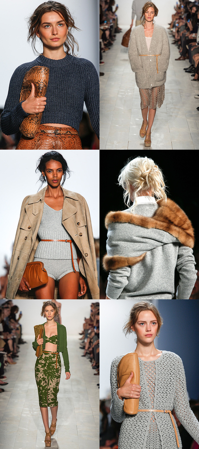 Michael Kors Spring 2014 knit and crochet goodness