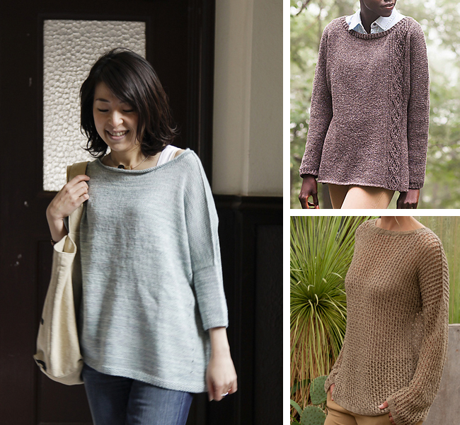 Pullovers for first timers: Or, an introduction to sweater