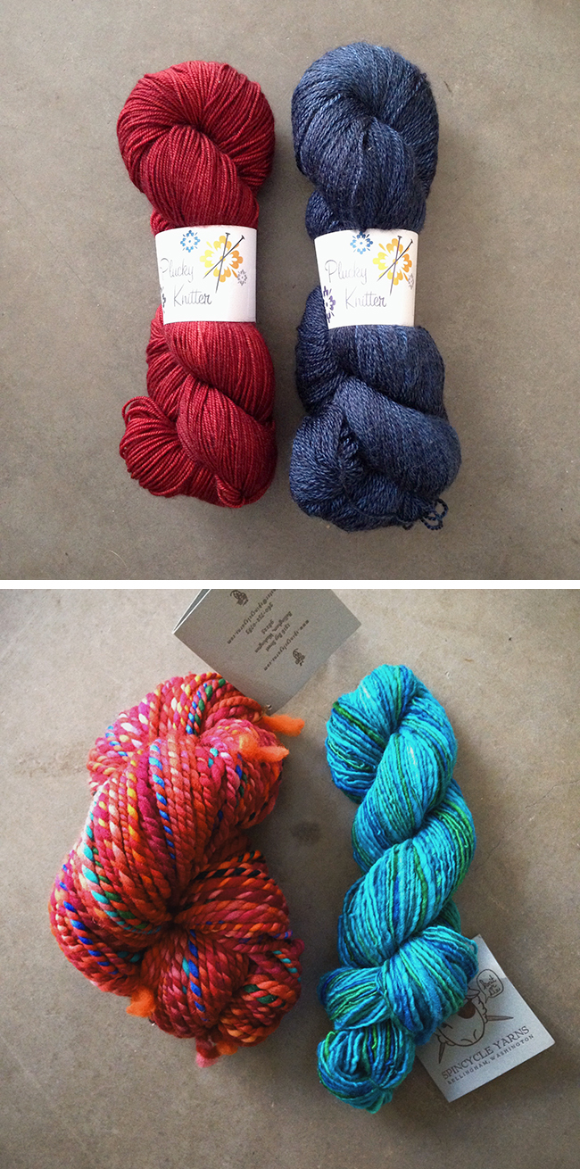 My haul from Stitches West