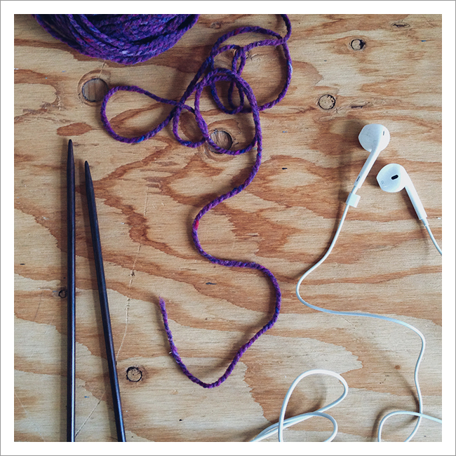 Q for You: What else do you do while you knit?