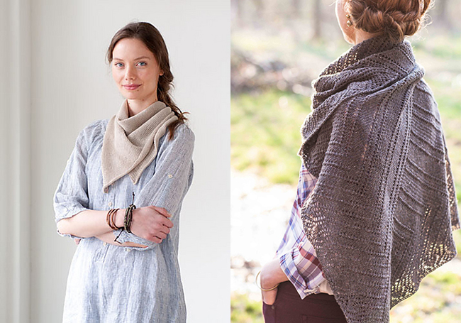 New Favorites: Square shawls