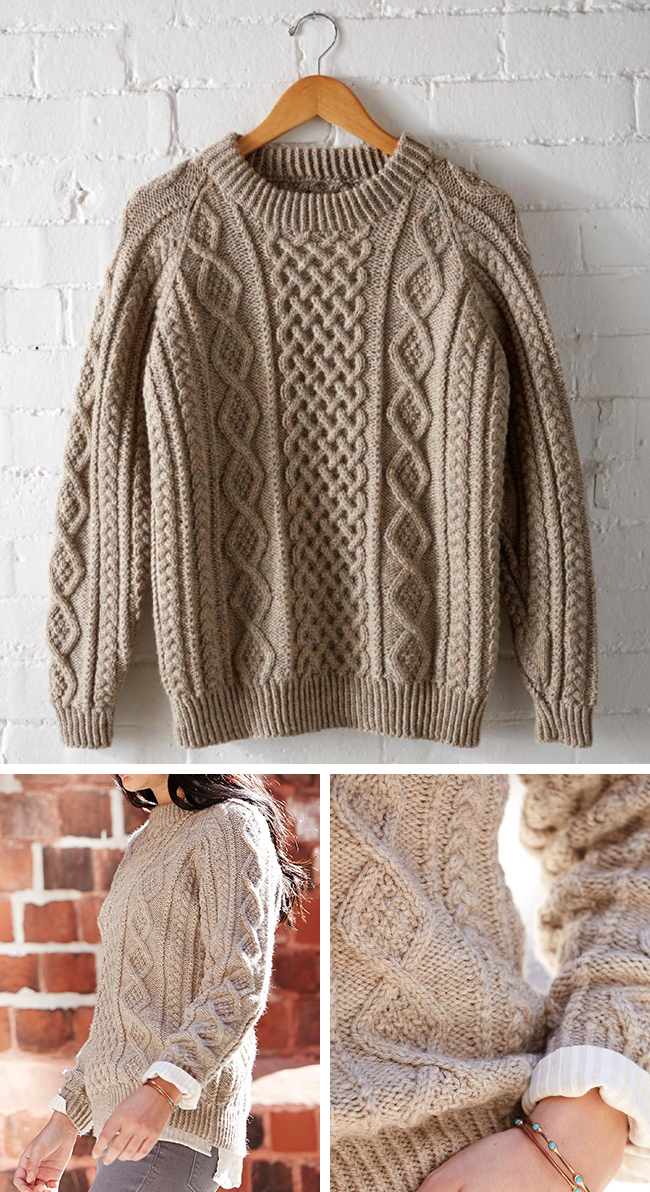 This just in: A perfect fisherman pullover