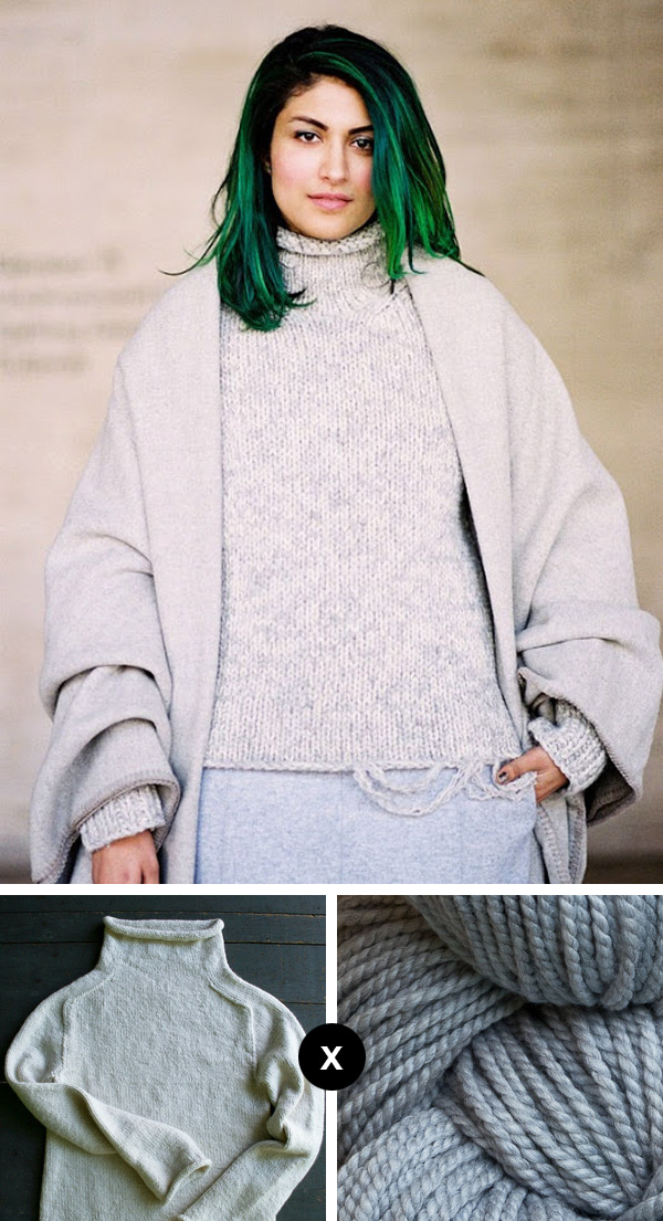 Knit the Look: Preetma Singh's rollneck sweater