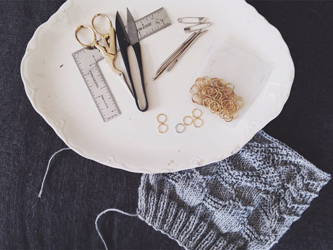 Our Tools, Ourselves: Courtney Spainhower (Pink Brutus Knits)