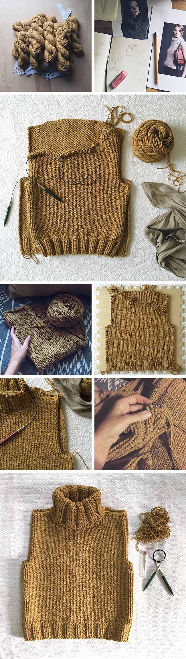 The sweater that practically knitted itself