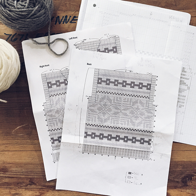 Cowichan via Japan: How to read a Japanese knitting pattern