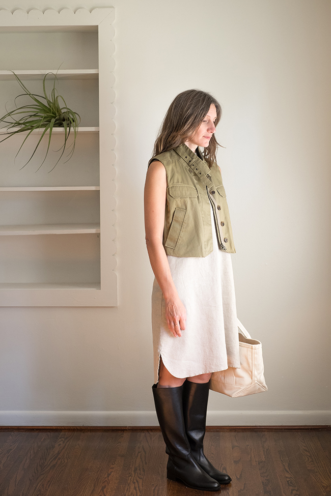 Slow Fashion October, Week 2: SMALL —and the hardest working garments in my closet