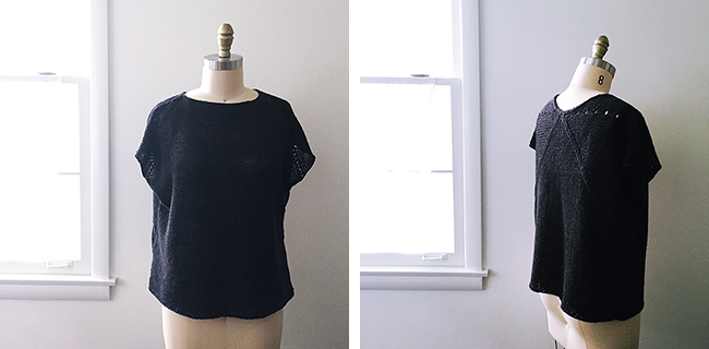 FO: Flex tee by Heidi Kirrmaeir