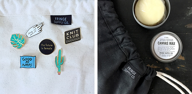 New at Fringe Supply Co: bling, cleaner and wax for your beloved Field Bag