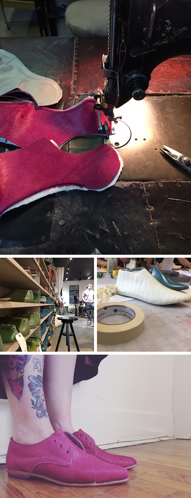Walking a mile in self-made shoes