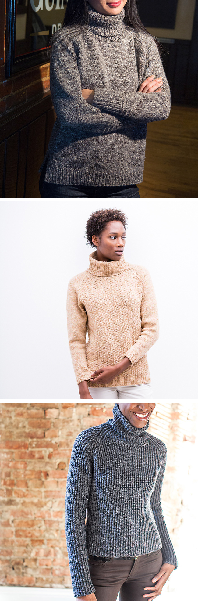 Make Your Own Basics: The turtleneck sweater