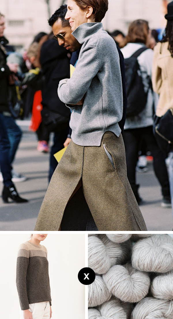 Knit the Look: Perfect grey turtleneck