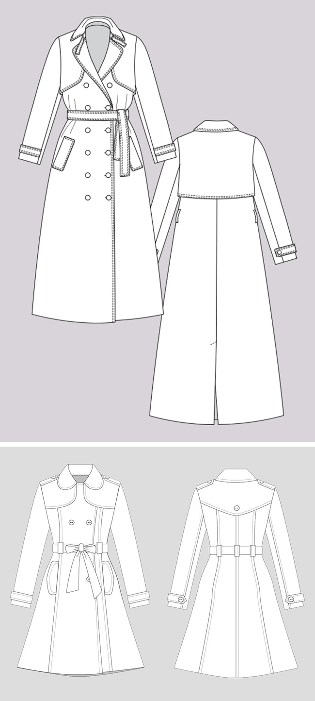 Make Your Own Basics: The trench coat