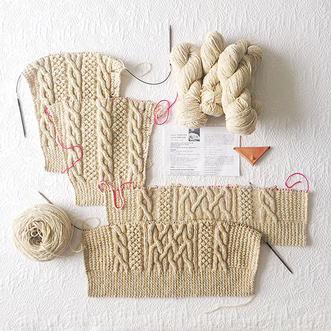 Hot Tip: Knit all the parts at once