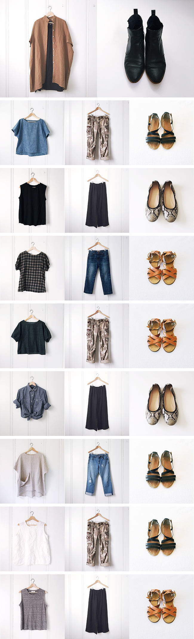 Summer wardrobe results: Better luck next year!