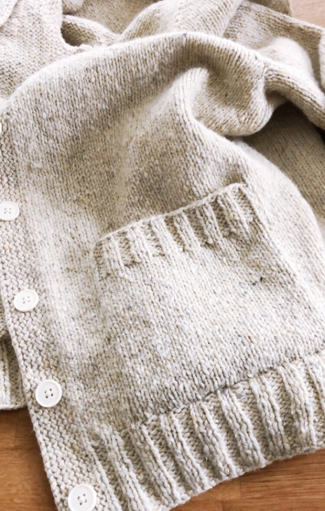 The Details: How to knit patch pockets