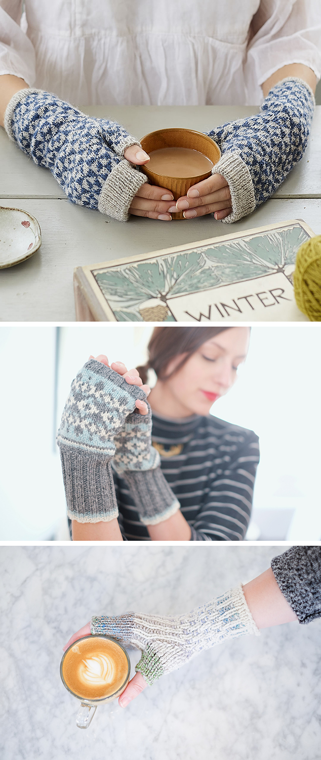 New Favorites: Colorwork mitts