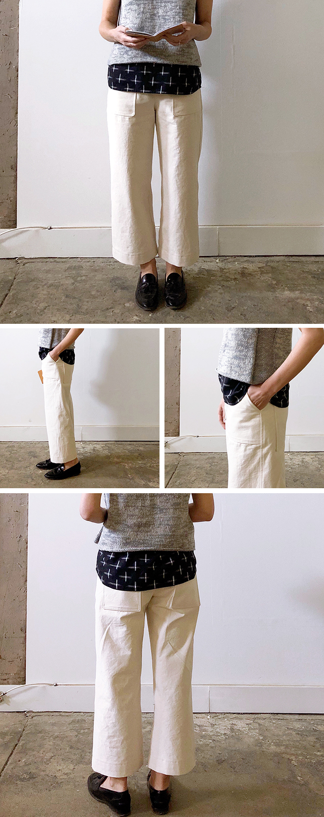 Hipster painter pants (2018 FO-12)