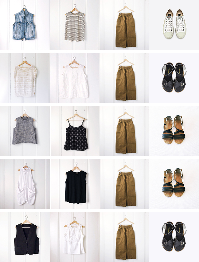 Early summer outfits: Summer layers