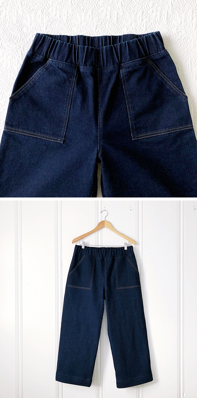 The Details: How to sew an elastic waistband
