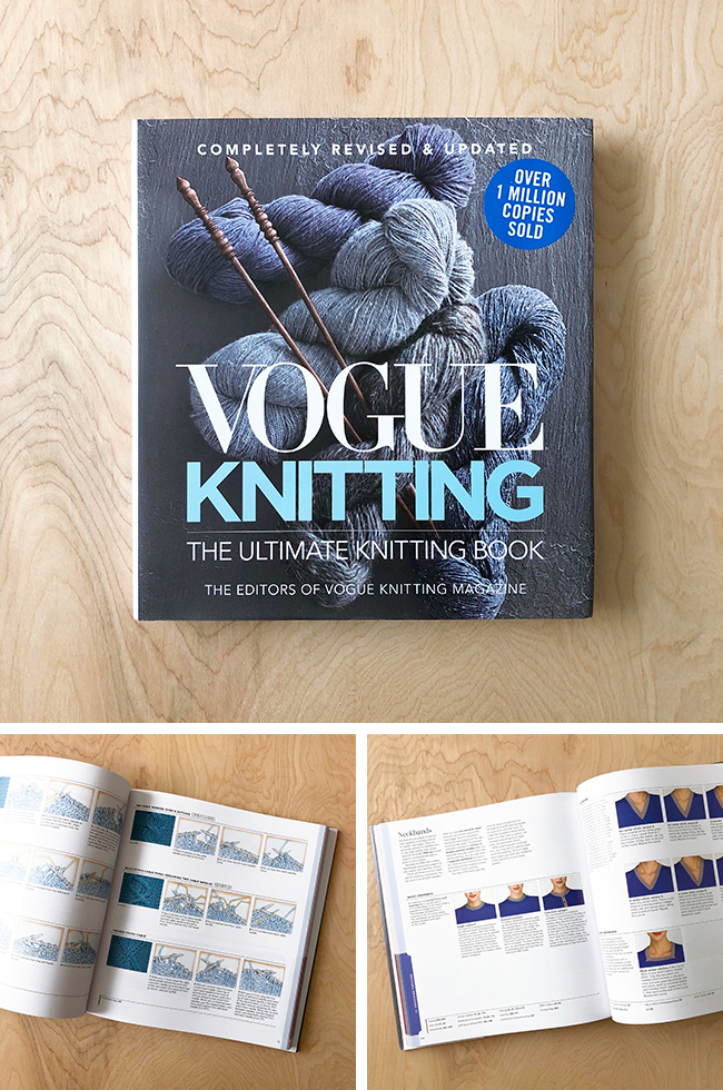 Must-have books: Vogue Ultimate Knitting Book