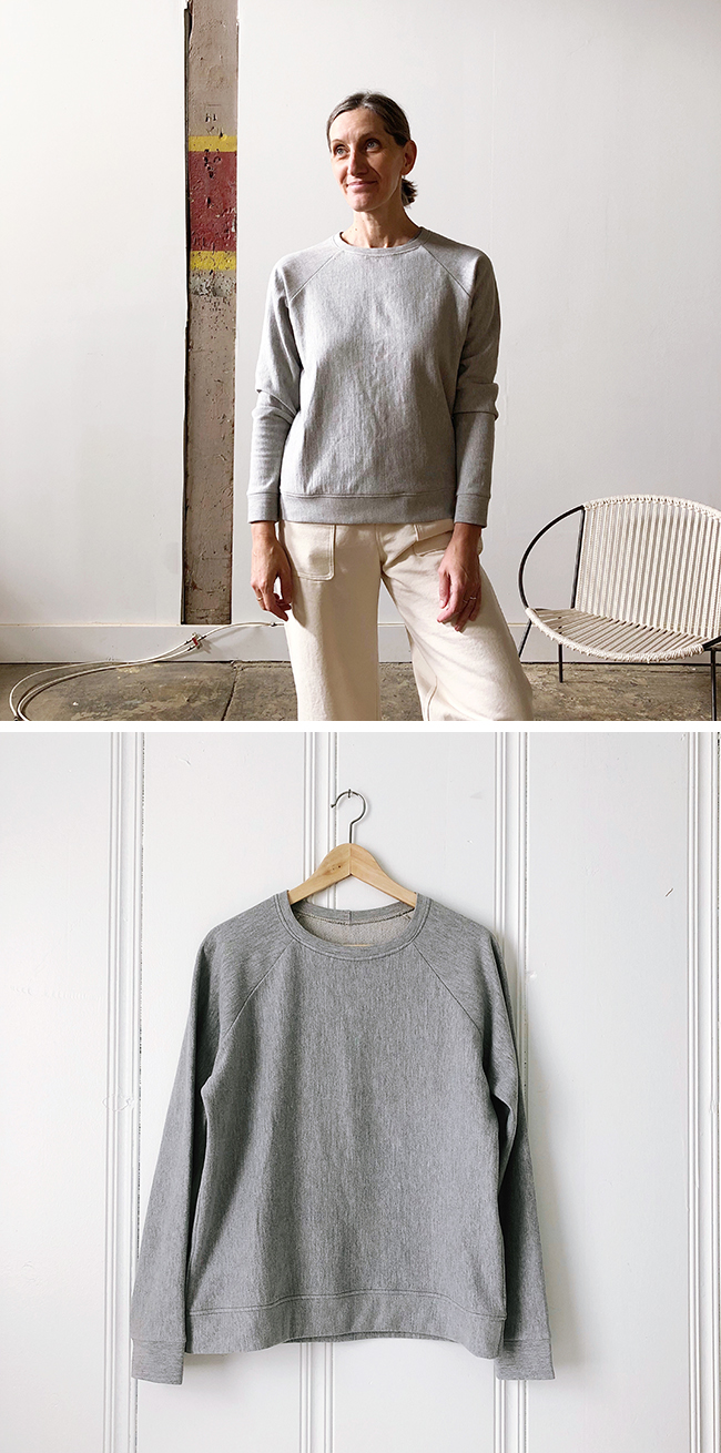 Almost-perfect sweatshirt + Squam packing list