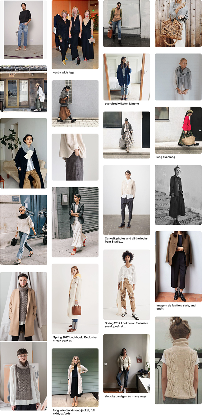 Fall '18 wardrobe planning: Mood and strategy