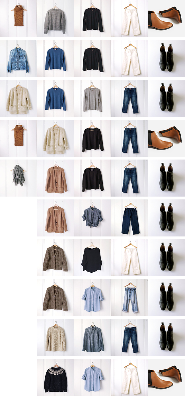 Winter '18 wardrobe: Outfits!