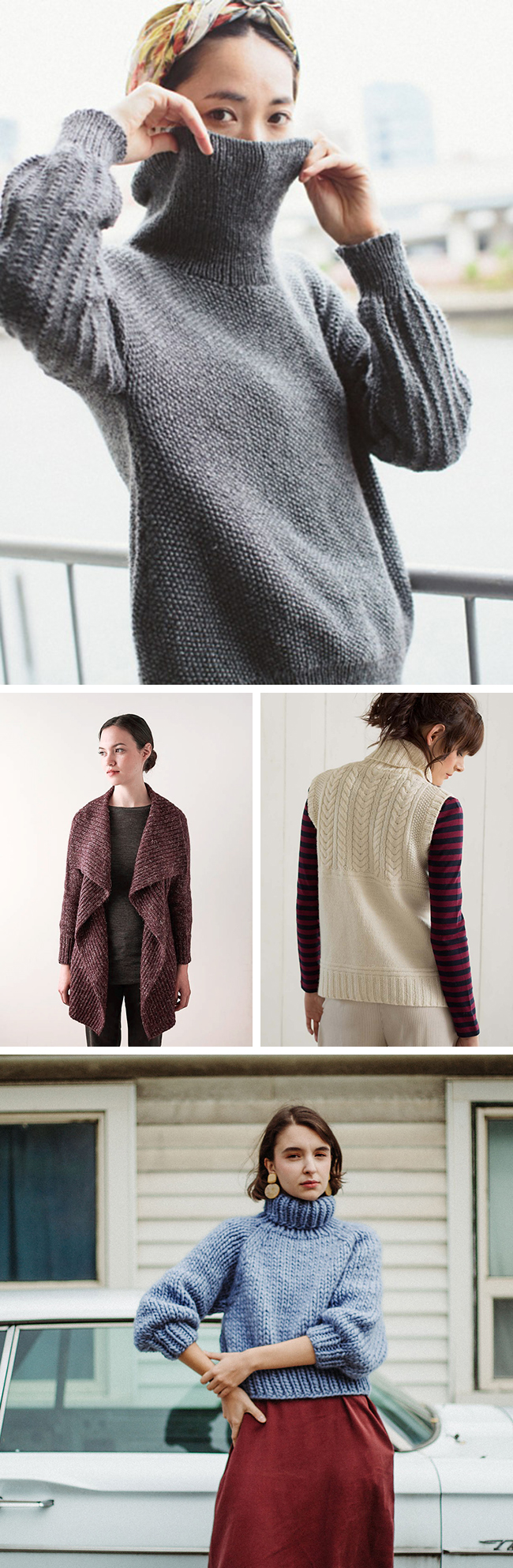 Best sweater knitting patterns